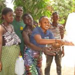 The Water Project: Lungi, Rotifunk, 1 Aminata Lane -  Handwashing At The New Tippy Tap