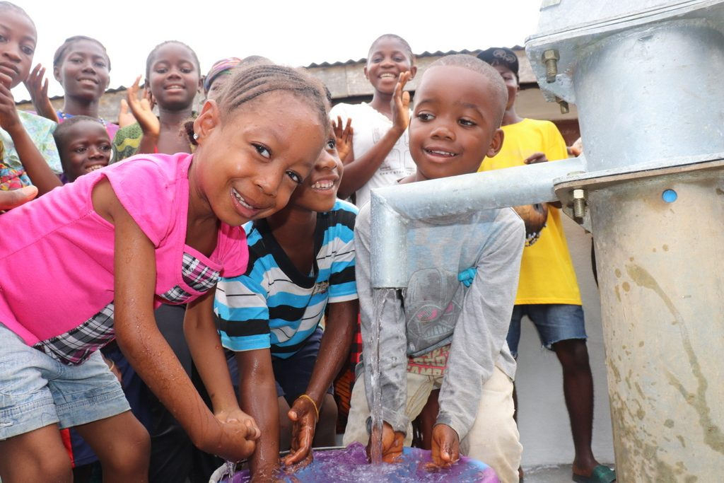 The Water Project : sierraleone19271-kids-at-the-well