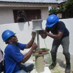 The Water Project: Lungi, Rotifunk, 1 Aminata Lane -  Pump Installation