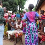 The Water Project: Lungi, Rotifunk, 1 Aminata Lane -  Singing At The Dedication