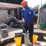 The Water Project: Lungi, Rotifunk, 1 Aminata Lane -  Yield Test