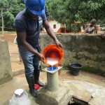 The Water Project: Lungi, Yaliba Village -  Chlorination