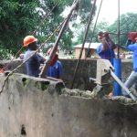 The Water Project: Lungi, Yaliba Village -  Drilling