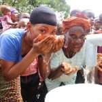 The Water Project: Lungi, Yaliba Village -  Drinking Well Water