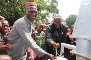 The Water Project:  Imam At The New Well