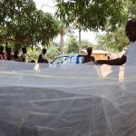 The Water Project: Lungi, Yaliba Village -  Mosquito Net Lesson