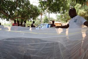 The Water Project:  Mosquito Net Lesson