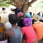 The Water Project: Lungi, Yaliba Village -  People Listen To The Training