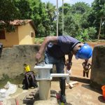 The Water Project: Lungi, Yaliba Village -  Pump Installation