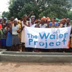 The Water Project: Lungi, Yaliba Village -  Well Celebration