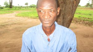 The Water Project:  Principal Abdul Koroma