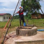 The Water Project: Lungi, Komkanda Memorial Secondary School -  Bailing The Well