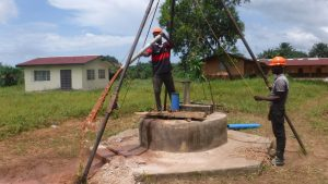 The Water Project:  Bailing The Well