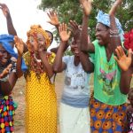 The Water Project: Lungi, Komkanda Memorial Secondary School -  Community Members Celebrate