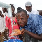 The Water Project: Lungi, Komkanda Memorial Secondary School -  Teacher Celebrates The Well
