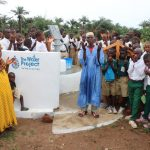 The Water Project: Lungi, Komkanda Memorial Secondary School -  Town Chief Offering Prayer