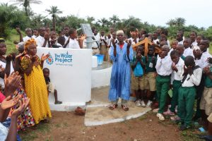 The Water Project:  Town Chief Offering Prayer