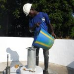The Water Project: Lungi, Lungi Town, Holy Cross Primary School -  Chlorination
