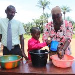 The Water Project: Lungi, Lungi Town, Holy Cross Primary School -  Handwashing Training