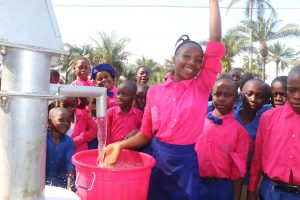 The Water Project:  Head Girl Celebrating