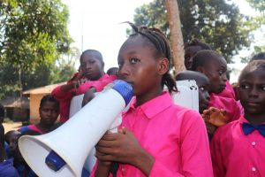 The Water Project:  Head Girl Making A Speech
