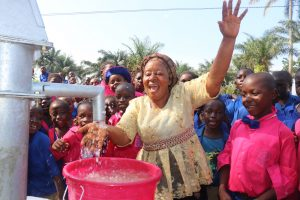 The Water Project:  Teacher And Students Celebrate