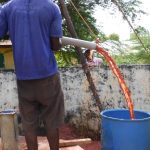 The Water Project: DEC Mahera Primary School -  Bailing