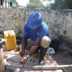 The Water Project: DEC Mahera Primary School -  Pump Installation