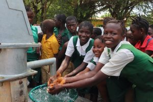 The Water Project:  Students At The Well