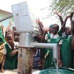 The Water Project: DEC Mahera Primary School -  Students Celebrating