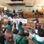 The Water Project: DEC Mahera Primary School -  Students Participating In Lessons