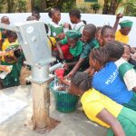 The Water Project: DEC Mahera Primary School -  Students Play At The Well