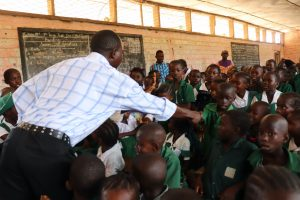 The Water Project:  Teacher Describes Disease Transfer