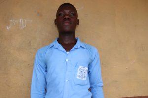The Water Project:  School Head Boy