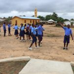 The Water Project: Sulaiman Memorial Academy Jr. Secondary School -  Students Outside Class Room