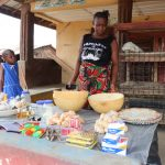The Water Project: Sulaiman Memorial Academy Jr. Secondary School -  Young Lady Doing Petty Trading At Her Home