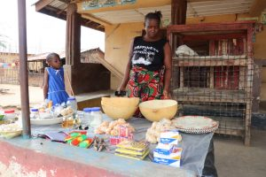 The Water Project:  Young Lady Doing Petty Trading At Her Home