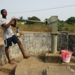 The Water Project: Lungi, Thomossoh, #24 Thullah Street -  Boy Collecting Water