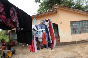 The Water Project:  Clothes Line