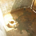 The Water Project: Lungi, Mahera, #5 MacAuley Street -  Inside Bath Shelter