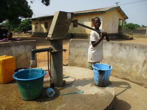 The Water Project:  Young Boy Collecting Water