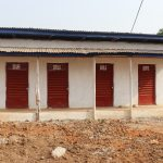 The Water Project: Lungi, International High School For Science & Technology -  School Latrine