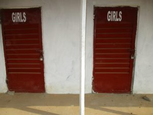 The Water Project:  School Latrine Girls Block