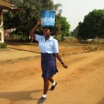 The Water Project: Lungi, International High School For Science & Technology -  Student Carrying Water
