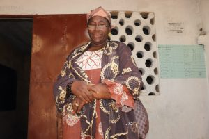 The Water Project:  Mrs Haja Peters