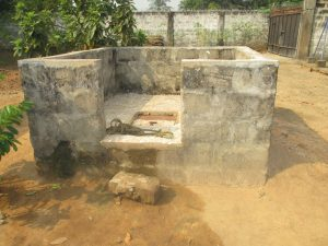 The Water Project:  Main Well Inside The Proprietor Compound