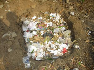 The Water Project:  School Garbage Pit