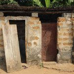 The Water Project: Lungi, Tardi, Khodeza Community School -  Sierra Leone Latrine At Community