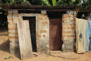 The Water Project:  Sierra Leone Latrine At Community