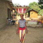The Water Project: Lungi, Tardi, Khodeza Community School -  Woman Selling Fish